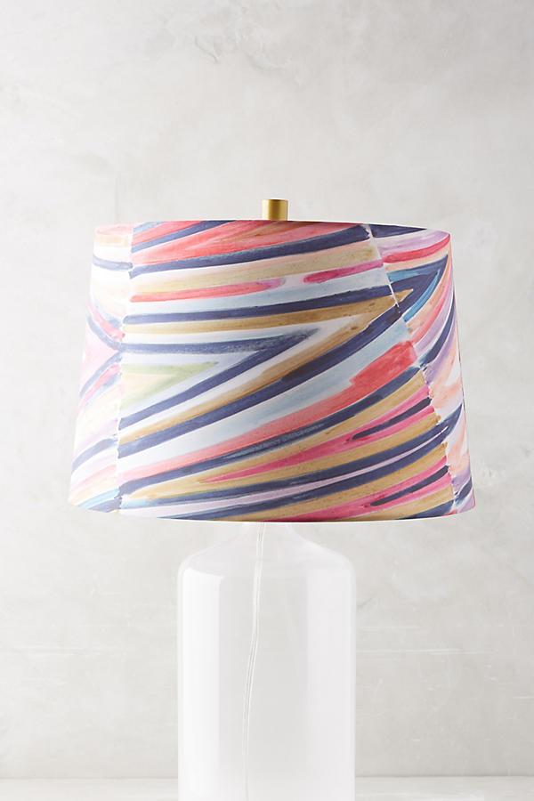 Anthro lamp shade